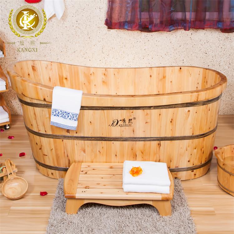 qualit en bois troite baignoire japonais baignoire de massage baignoire bains. Black Bedroom Furniture Sets. Home Design Ideas