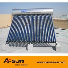 200L Compact Stainless steel non-pressurized solar hot water panel