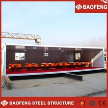 safe and reliable prefabricated insulated container houses