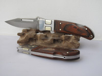 popular hot selling classic premium turkey russian brasil mexico lion tool back lock wood handle folding pocket knife