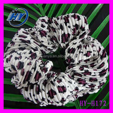 New Arrival Color Optional Hair Accessories Korean Version of the Fall and Winter Plush Leopard Domesticated Hen Hair Rope