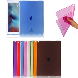 "Factory wholesale Ultra Thin Soft TPU Case for apple iPad Pro 12.9"", for ipad pro clear TPU case"