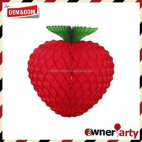 Hot Sale High Quality Beautiful Raspberry Tissue Paper Party Decoration