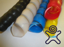 custom hydraulic hose spiral guard / hose protector Flexible Polyethylene Spiral Wrap /we are manufacturer, directly export