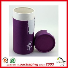 custom handmade paper box round shape tube paper cigarette free sample supply