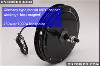 48v gearless 1000watt brushless hub motor