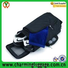 wholesale travel sports shoe bag/fabric golf shoe bag organza