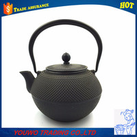 chinese wedding yixing cast iron tea pot and kettle set