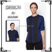 Latest muslim fashion blouse for women