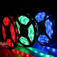 CE&RoHS DC12V/24V 60leds Waterproof flexible SMD 5050 RGB LED Strips light for decoration lighting