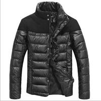 Windproof Metal Men's Designer Coats With High Quality Heavy Winter Coats For Men