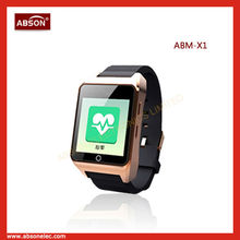 Android 4.2 water-proof GSM android phone watch support google play store,oem android watch phone,android hand watch mobile phon