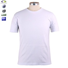 white cotton bulk plain t-shirts wholesale china