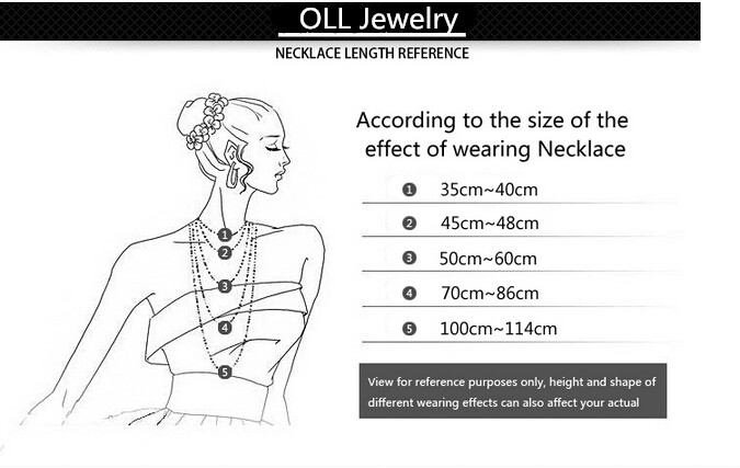 10 Necklace Length Reference_