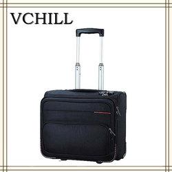 Mens cabin size black cheap laptop trolley bag