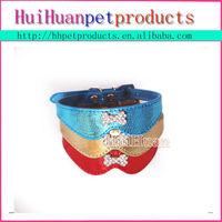 Wholesale price curved buckle adjustable dog collar