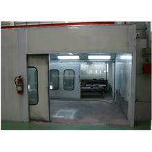 Car Service Equipment Spray Bake Paint Booth with Infrared Lamp