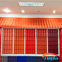 plastic spanish bamboo roofing sheets for villa house