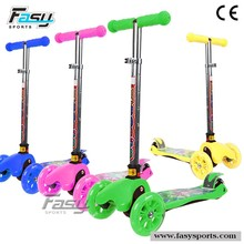 Fasy scooter sidecars, side foot scooter for children
