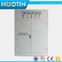 Three Phase full automatic voltage regulator 600kva ac electric voltage stabilizer
