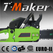 High efficiency reasonable price petrol chain saw 4500 with ce gs