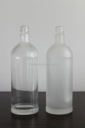 EMPTY BOSTON ROUND GLASS BOTTLE FOR VODKA/RUM SPIRITS 750ML