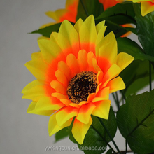 Cheap Artificial flower Sunflower for Wedding Decor Home decor Factory Directly