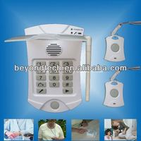 Emergency Aid Yard Panic Button Alarm System with Wearable Wrist and Neck Button