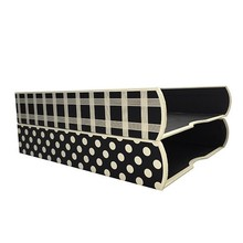 A4 Hardcover Paper Office Box File