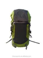 Calssical design Med size hiking bag with side pockets for hiking trip or bike travel