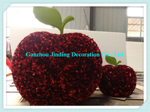 Wholesale China supply big red artificial decorative apple for christmas decoration