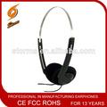 Barato auricular de la aviación& auriculares desde shantou auricular de fábrica de la fabricación