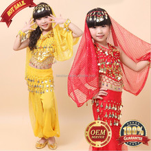 BestDance Belly Dance Party Costumes Halloween Professional Set for Girl
