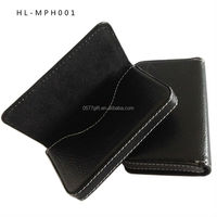 metal with PU Card Holder, name card holder ,PU leather card case