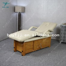 Hot sale top-grade wooden electric beauty bed Extensible beauty bed