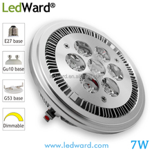 5w 6w 7w 9w 12w AR111 GU10 LED,G53 E27 Sockets Available AR111 LED Dimmable