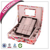 Christmas gift MDF fabric covered multicolor leather lacquer jewelry boxes