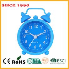 Silicone mini alarm desktop christmas decor promotional gift clock