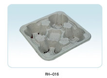 eco----friendly molded pulp cup trays