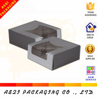 Chinese products one color full printed folding paper custom pie boxes