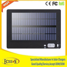 High capacity 50000mah 12v solar car battery charger , 50000mah solar charger for laptop