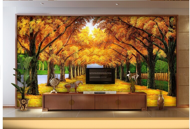 3d wall murals wallpaper buy 3d wall murals wallpaper 3d for Digital print mural