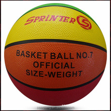 cheap promotional rubber basketball #5 maker