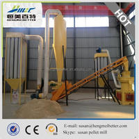 2.5-3 t/h forest wood pellet mill production line