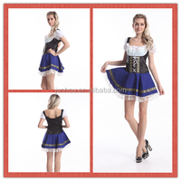 Sexy cosplay costume top quality oktoberfest costumes sexy beer maid costumes