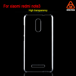 Biaoxin phone case for xiaomi redmi note 3 protective case ,new model phone case for xiaomi redmi note3 pc clear cover