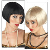 Adult Womens Sexy Roaring 1920s Style Halloween Party Wig (W-121)
