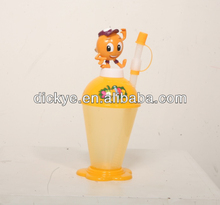 2014 most lovely dog glass kids doll cartoon cup