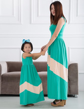 2015 hot selling family clothes OEM wholesale, mother and child/daughter dress clothing design set, mommy and me maxi dress