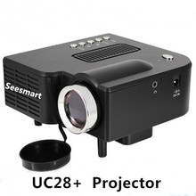 Cheap Mini Projector UC28 Home Theater 1080P 320*240Pixels LED Portable Projector High Definition